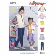 8429  Simplicity Pattern: Childs Separates